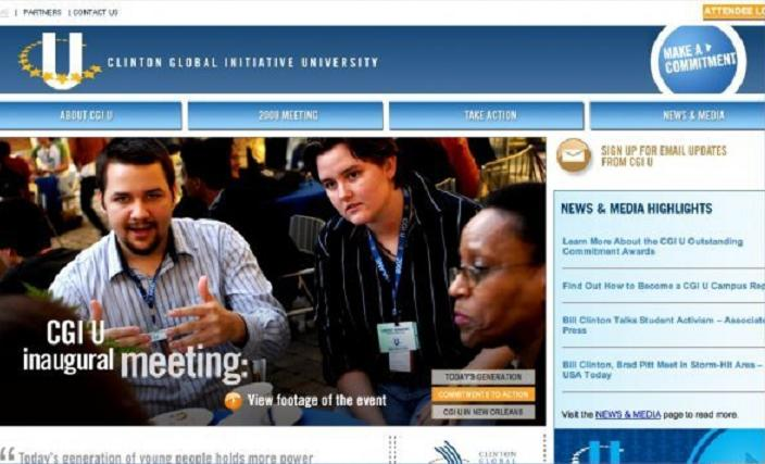 Clinton Global Initiative conference